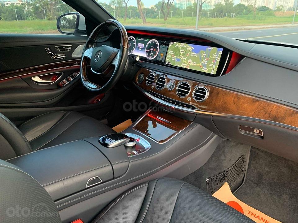 Chính chủ  bán xe Mercedes S400L đời 2017, màu trắng, xe đi ít, giá tốt-8