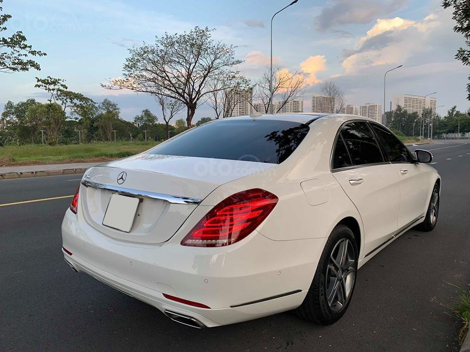 Chính chủ  bán xe Mercedes S400L đời 2017, màu trắng, xe đi ít, giá tốt-7