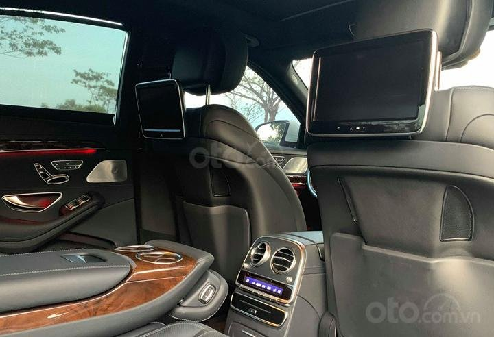 Chính chủ  bán xe Mercedes S400L đời 2017, màu trắng, xe đi ít, giá tốt-10
