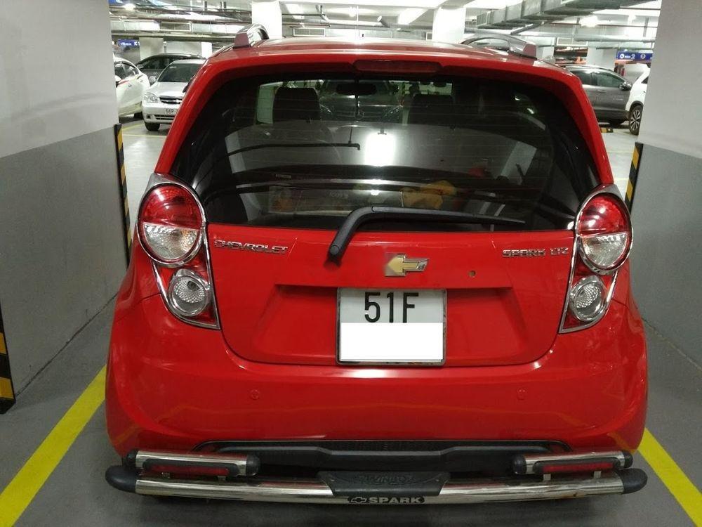 Cần bán lại xe Chevrolet Spark đời 2014, màu đỏ số tự động (3)