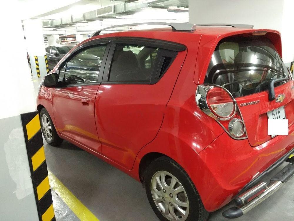 Cần bán lại xe Chevrolet Spark đời 2014, màu đỏ số tự động-1