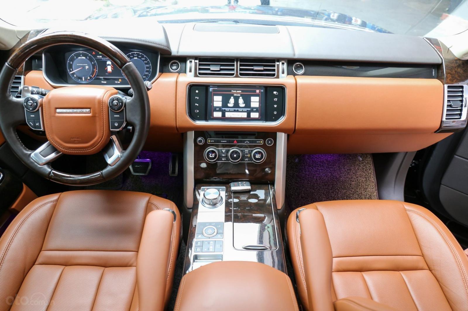 Bán LandRover Range Rover SV Autobiography 5.0 đời 2016, hai màu xám đen, lướt 1v7 km (4)