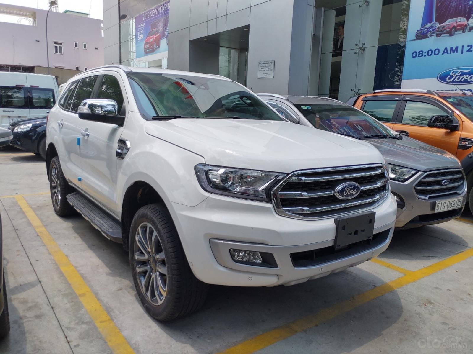 Ford Everest Titanium Bi-Turbo, 2 cầu tự động, nhập khẩu Thái Lan, giá niêm yết 1 tỷ 399tr-10