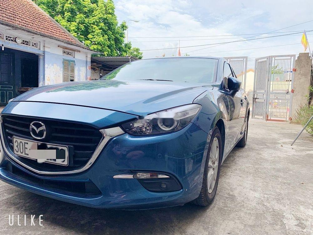 Bán Mazda 3 đời 2017, màu xanh lam, xe nhập còn mới, 600 triệu (4)