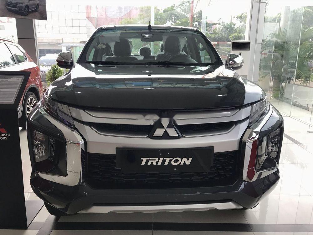 Bán Mitsubishi Triton năm 2019, màu đen, nhập khẩu  -0