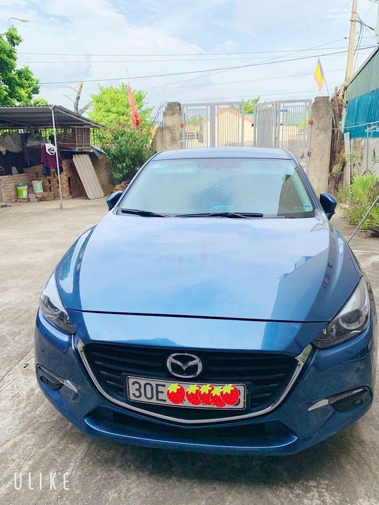 Bán Mazda 3 đời 2017, màu xanh lam, xe nhập còn mới, 600 triệu (3)
