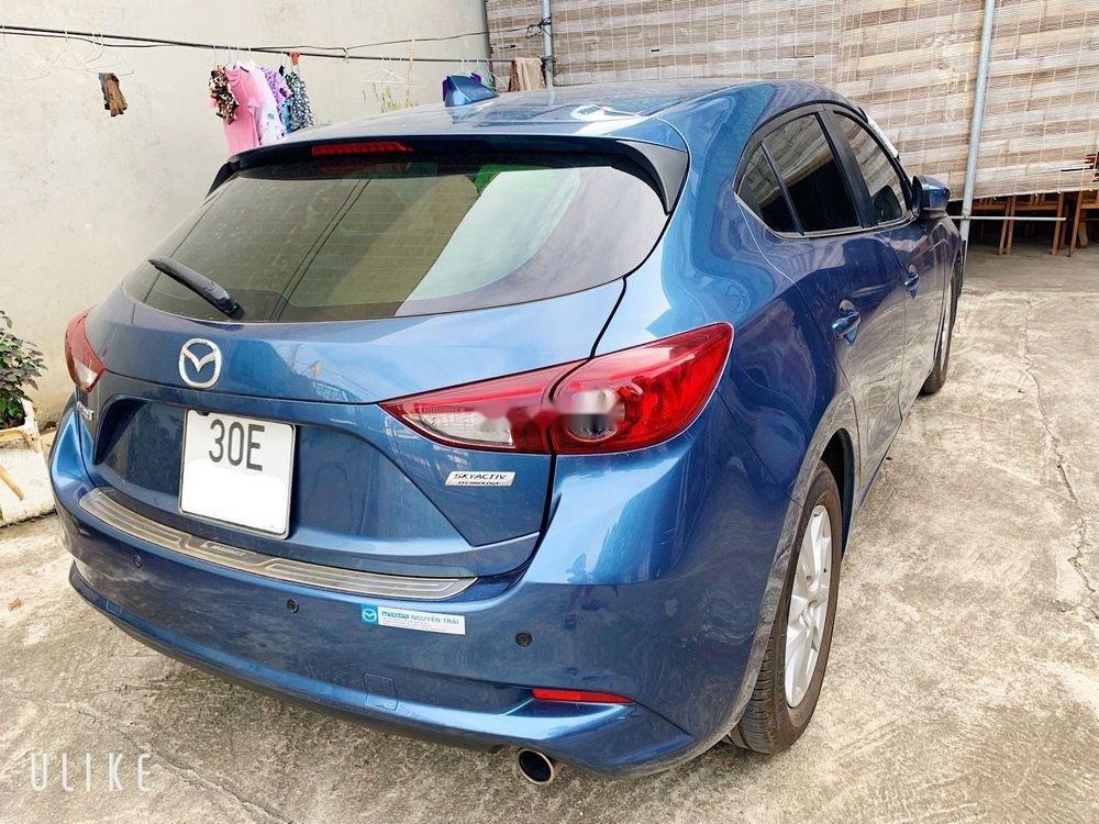 Bán Mazda 3 đời 2017, màu xanh lam, xe nhập còn mới, 600 triệu (1)