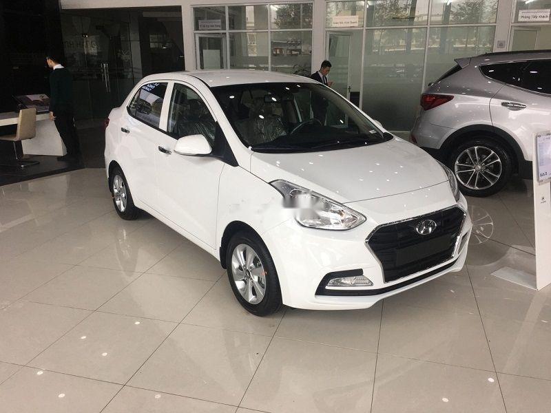 Cần bán Hyundai Grand i10 sản xuất năm 2019, màu trắng (1)