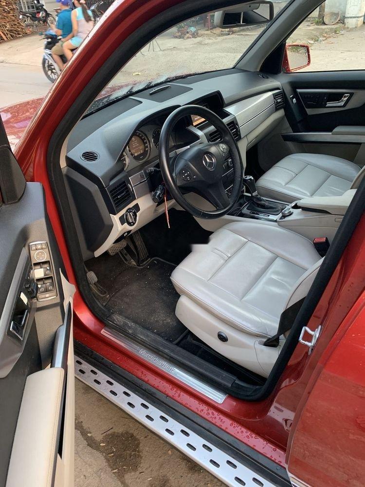 Bán xe Mercedes GLK300 sản xuất 2009, màu đỏ, xe nhập, giá tốt (3)