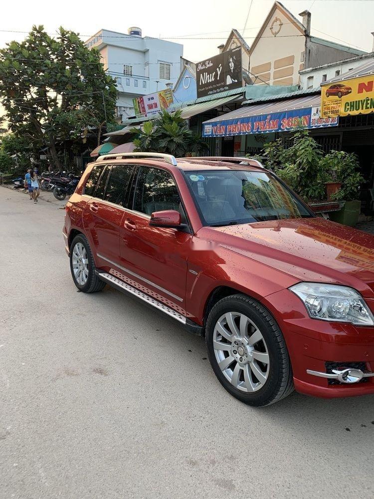 Bán xe Mercedes GLK300 sản xuất 2009, màu đỏ, xe nhập, giá tốt (6)