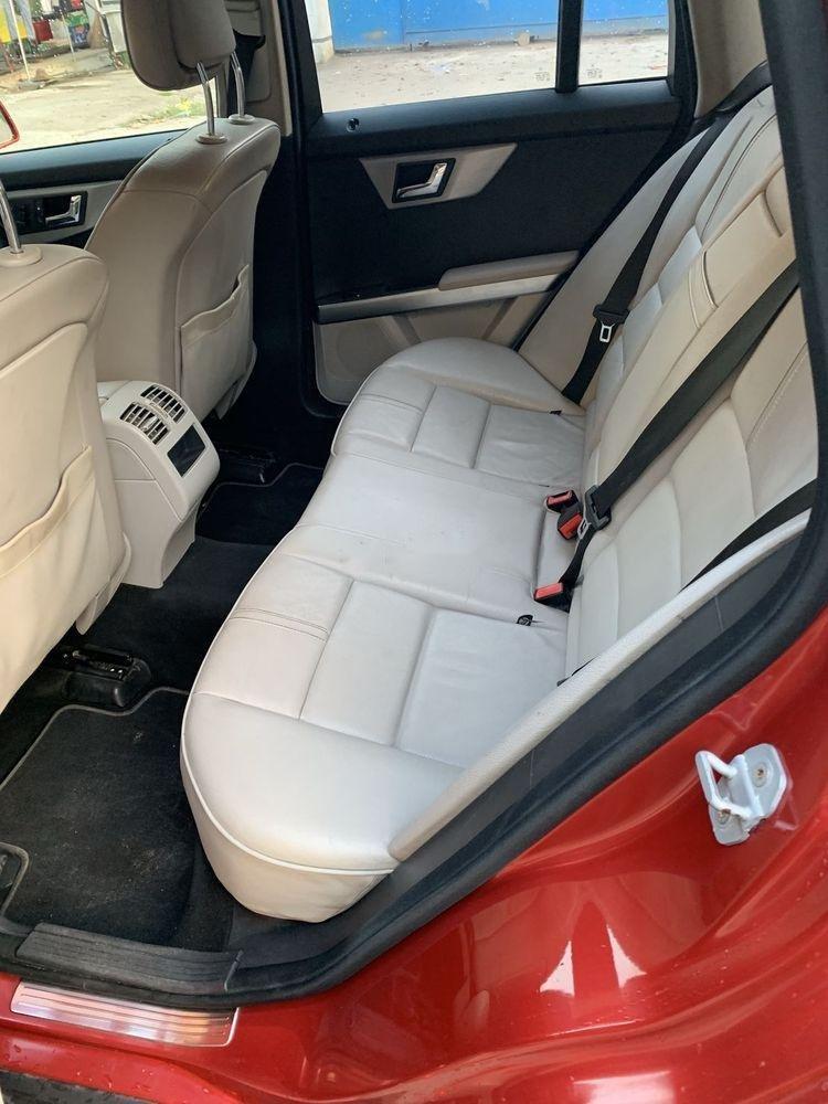 Bán xe Mercedes GLK300 sản xuất 2009, màu đỏ, xe nhập, giá tốt (2)