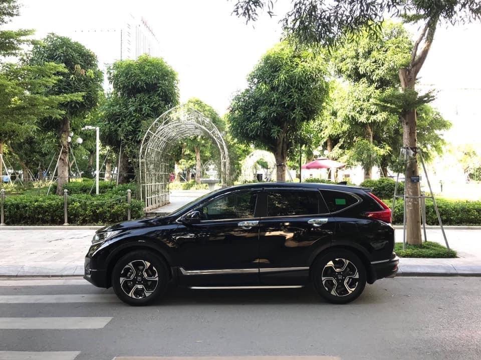 Bán Honda CRV 1.5 Tubor bản L màu đen, sản xuất 2018 đăng ký 03/2019 tên tư nhân chính chủ-2