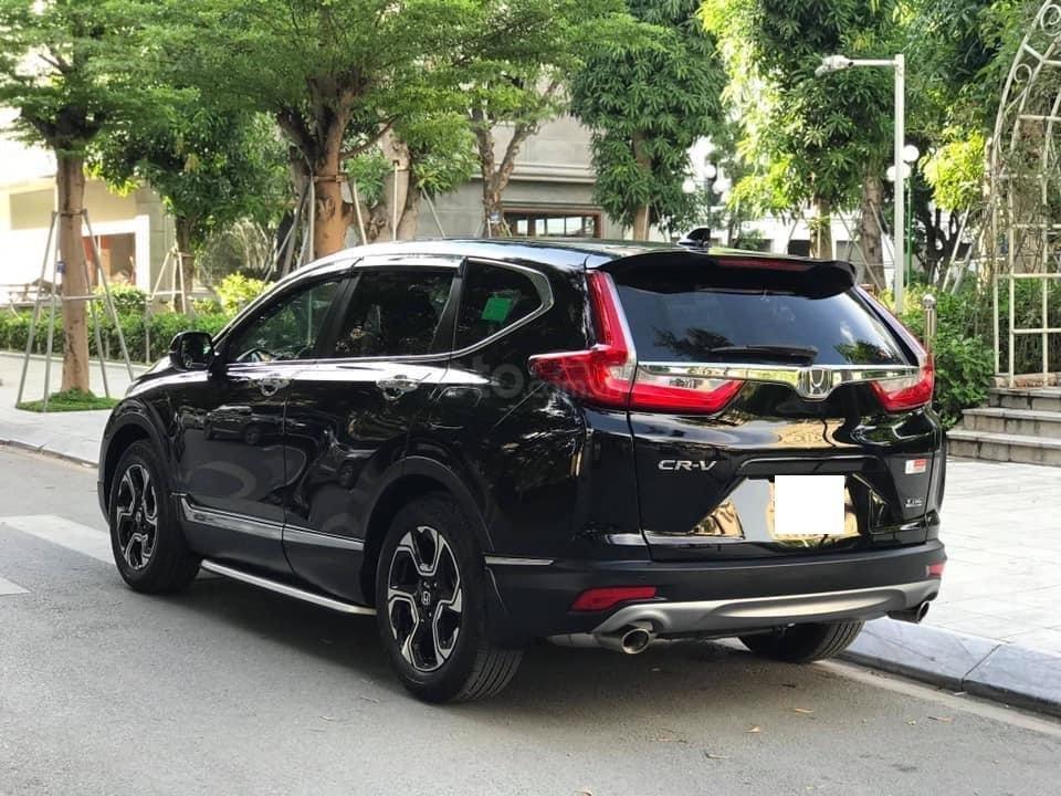 Bán Honda CRV 1.5 Tubor bản L màu đen, sản xuất 2018 đăng ký 03/2019 tên tư nhân chính chủ-3