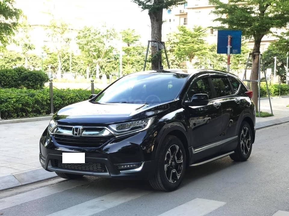 Bán Honda CRV 1.5 Tubor bản L màu đen, sản xuất 2018 đăng ký 03/2019 tên tư nhân chính chủ-1