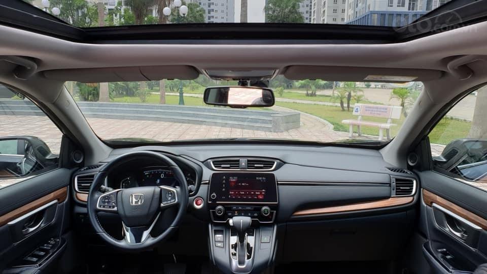 Bán Honda CRV 1.5 Tubor bản L màu đen, sản xuất 2018 đăng ký 03/2019 tên tư nhân chính chủ-12