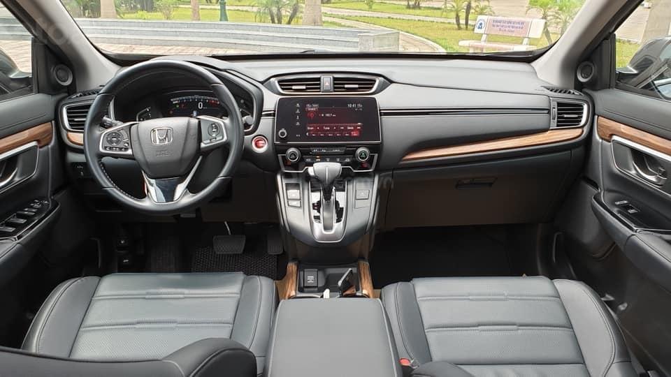 Bán Honda CRV 1.5 Tubor bản L màu đen, sản xuất 2018 đăng ký 03/2019 tên tư nhân chính chủ-13