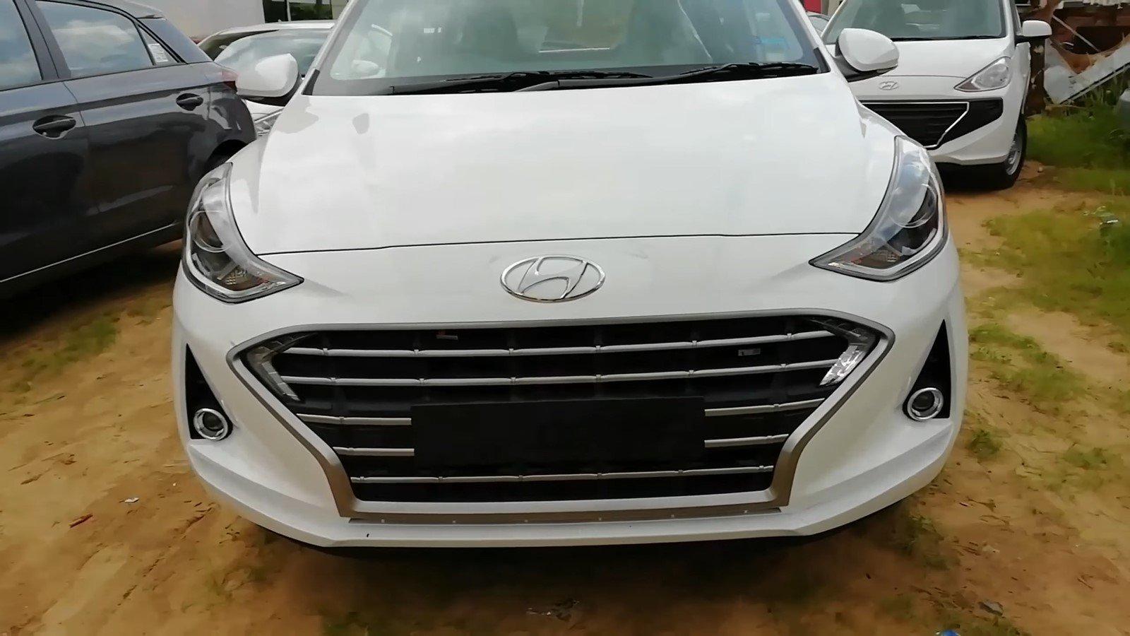 Hyundai Grand i10 2020 lộ ảnh thực tế đầy mới mẻ trước ngày ra mắt a2