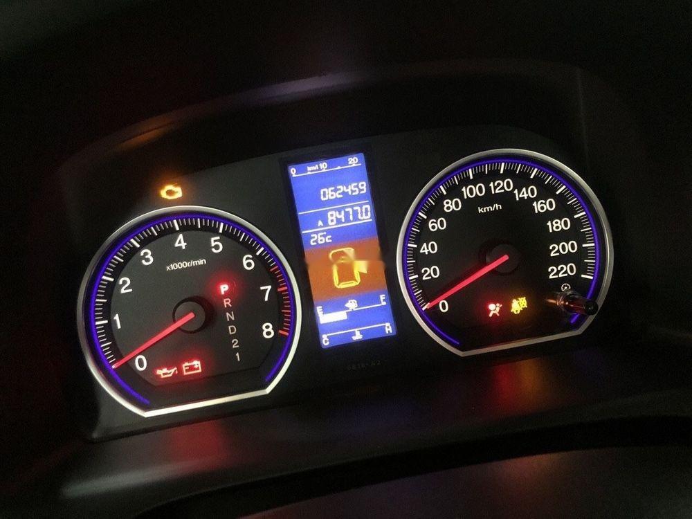Bán Honda CR V đời 2011, màu xám số tự động, 550tr-7