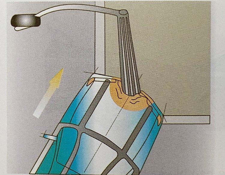Túi khí không bung trong trường hợp nào? a7