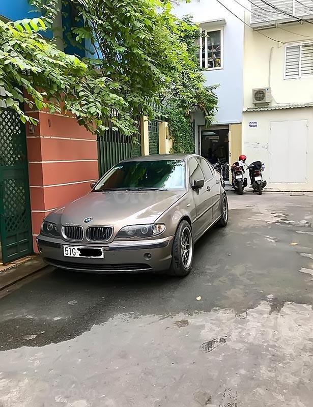Bán BMW 3 Series 325i năm sản xuất 2003, màu xám, xe nhập   (2)