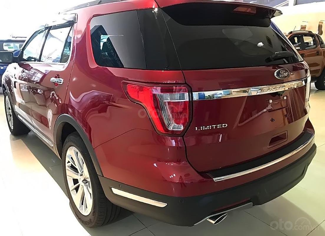 Bán xe Ford Explorer Limited 2.3L EcoBoost đời 2018, màu đỏ, xe nhập (2)