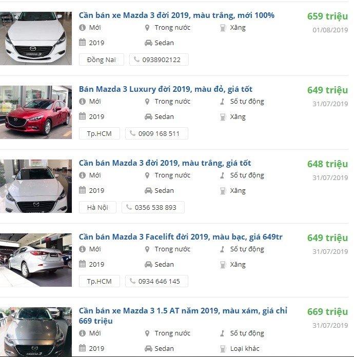 Mazda 3 nhận ưu đãi lên tới 20 triệu đồng tại đại lý trong tháng 8/2019 - Ảnh 1.