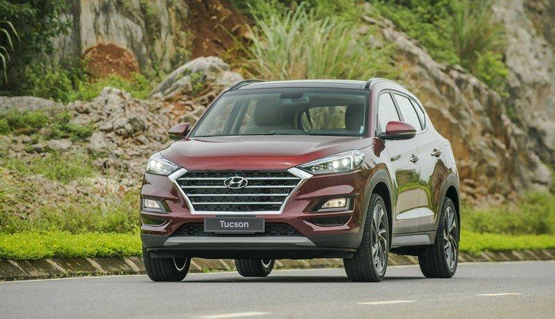 So sánh xe Mazda CX-5 2019 và Hyundai Tucson 2019: