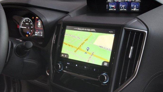 So sánh xe Subaru Forester 2019 và Honda CR-V 2019: Hệ thống thôn tin giải trí của Forester 1