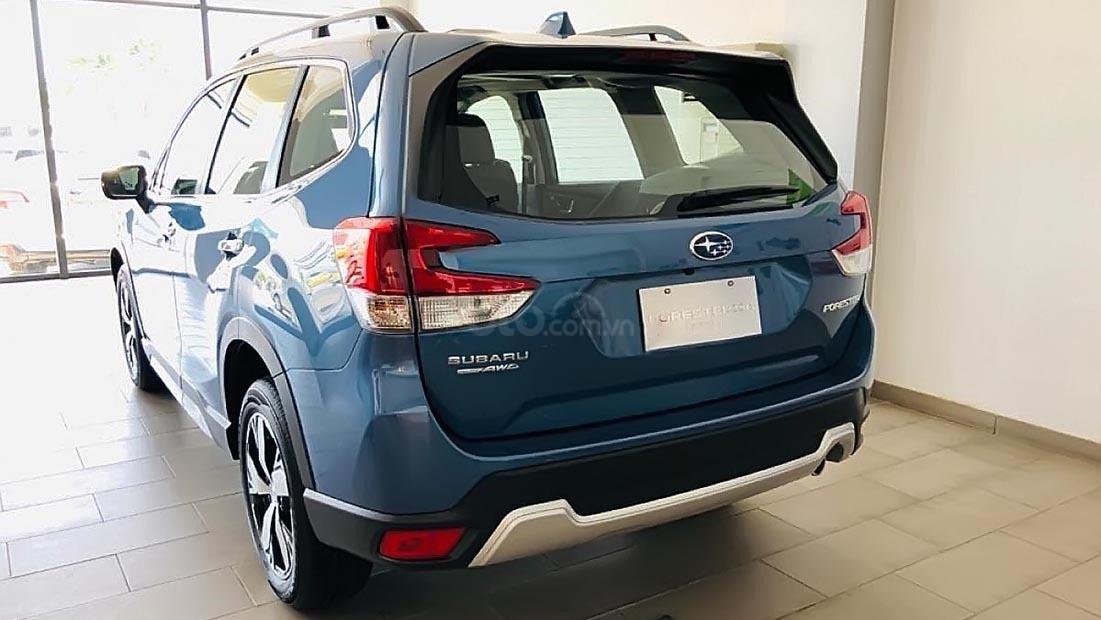 So sánh xe Subaru Forester 2019 và Honda CR-V 2019: Đuôi xe Forester 1
