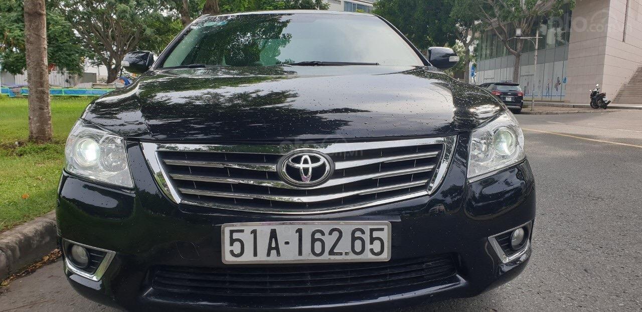 Bán Toyota Camry 2.4G đời 2011, màu đen (5)