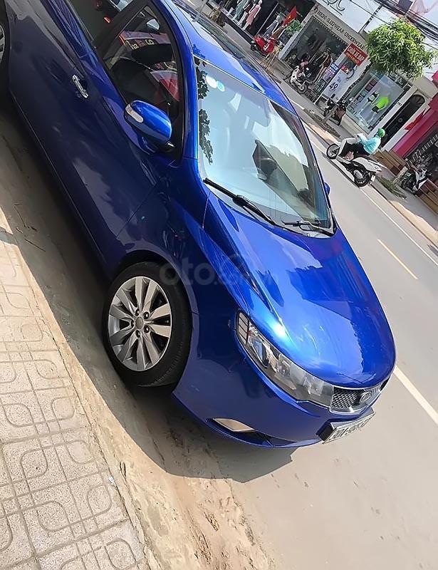 Bán Kia Forte C năm 2009, màu xanh lam, nhập khẩu (2)