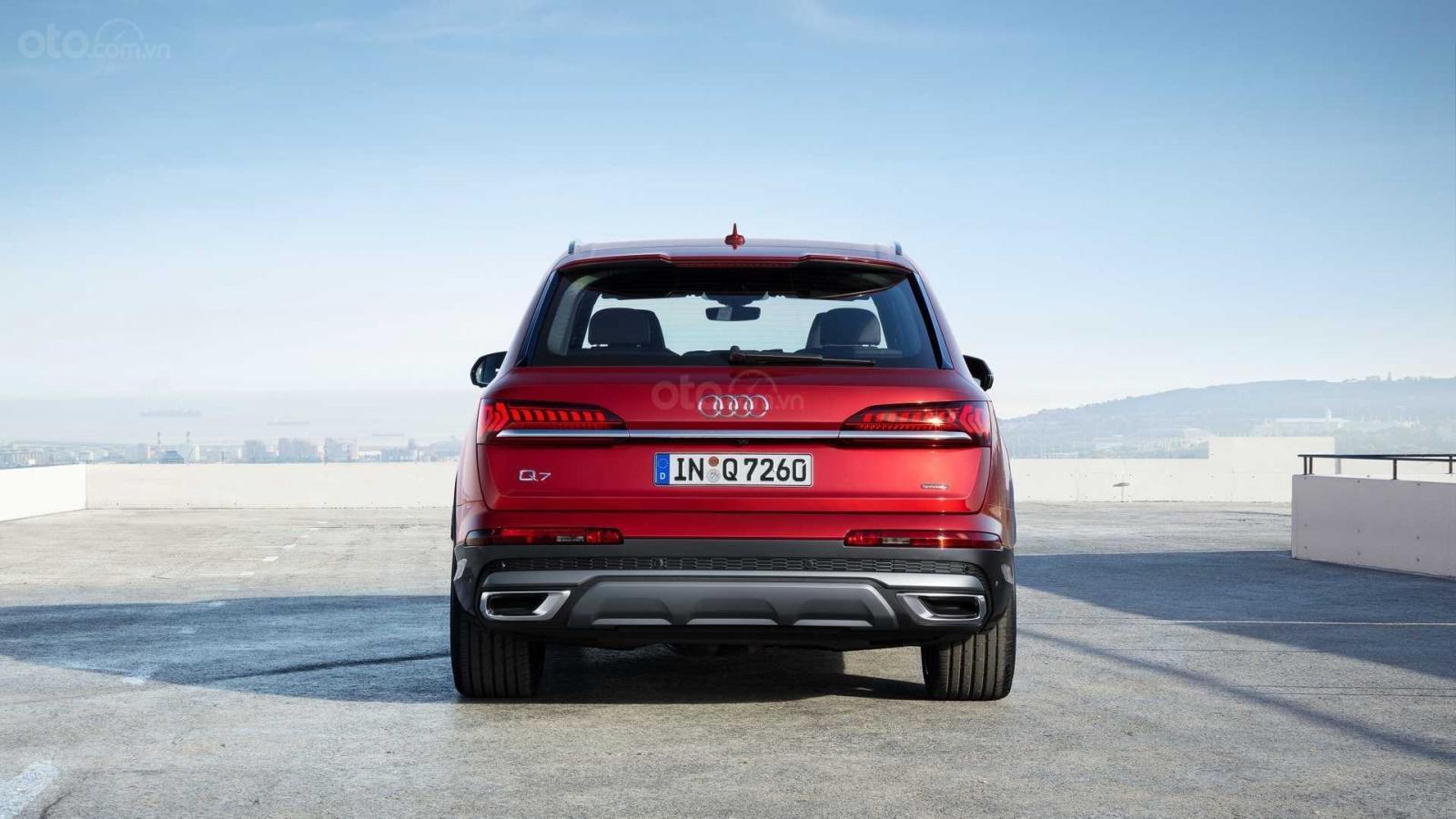 Đuôi xe Audi Q7 2020