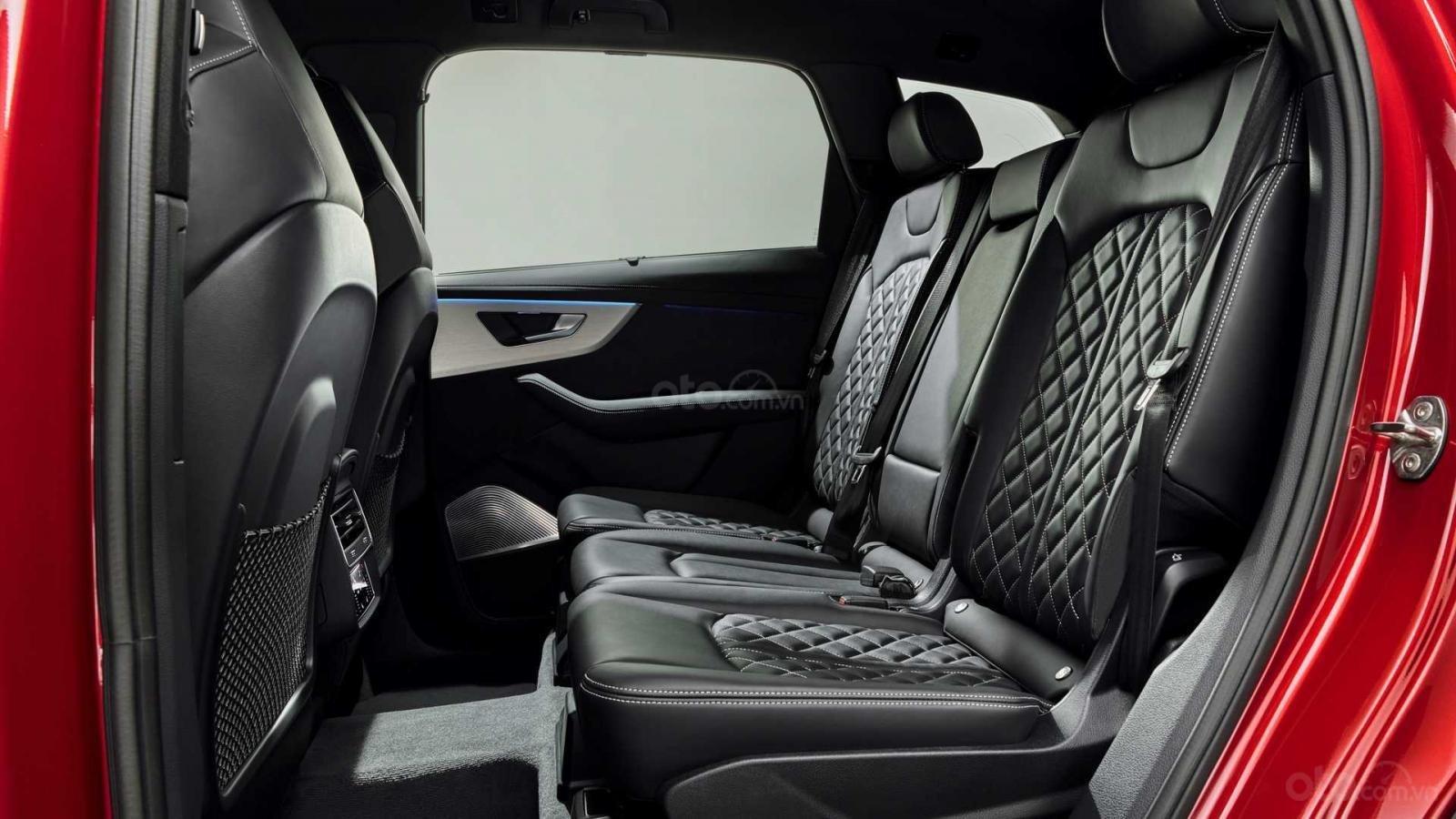 Đánh giá xe Audi Q7 2020 - ghế ngồi