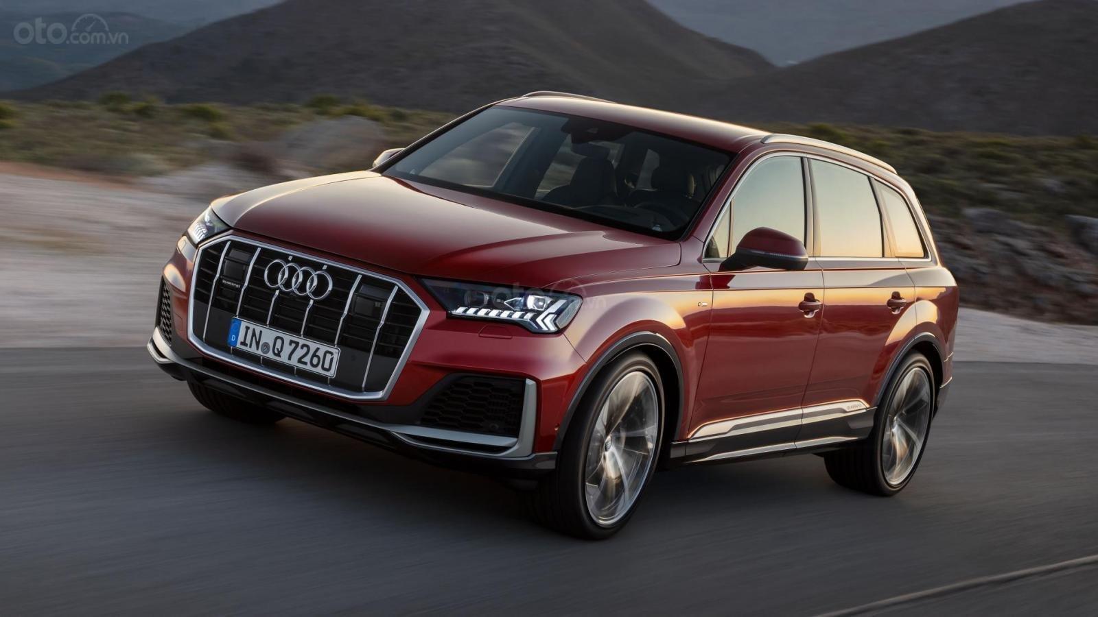 Đánh giá xe Audi Q7 2020.