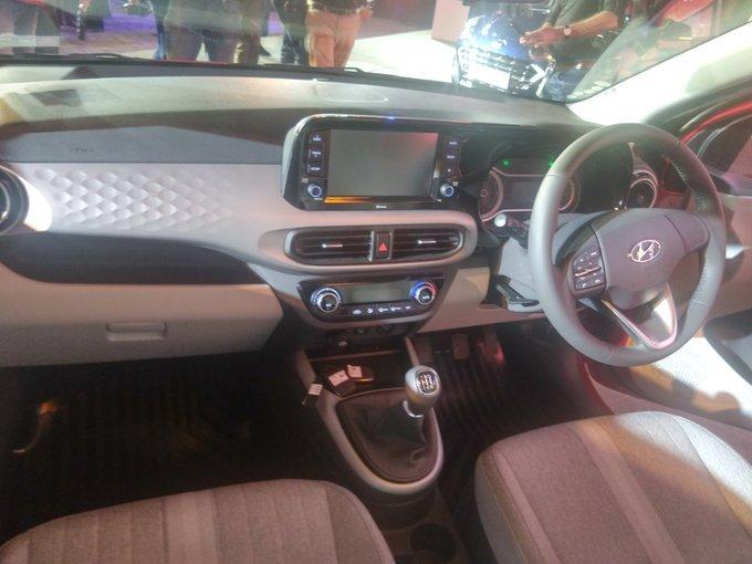 Nội thất của Hyundai Grand i10 2020