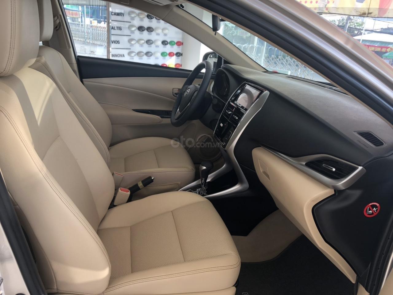 Bán Toyota Vios 1.5G cao cấp màu nâu vàng - giao xe ngay (5)
