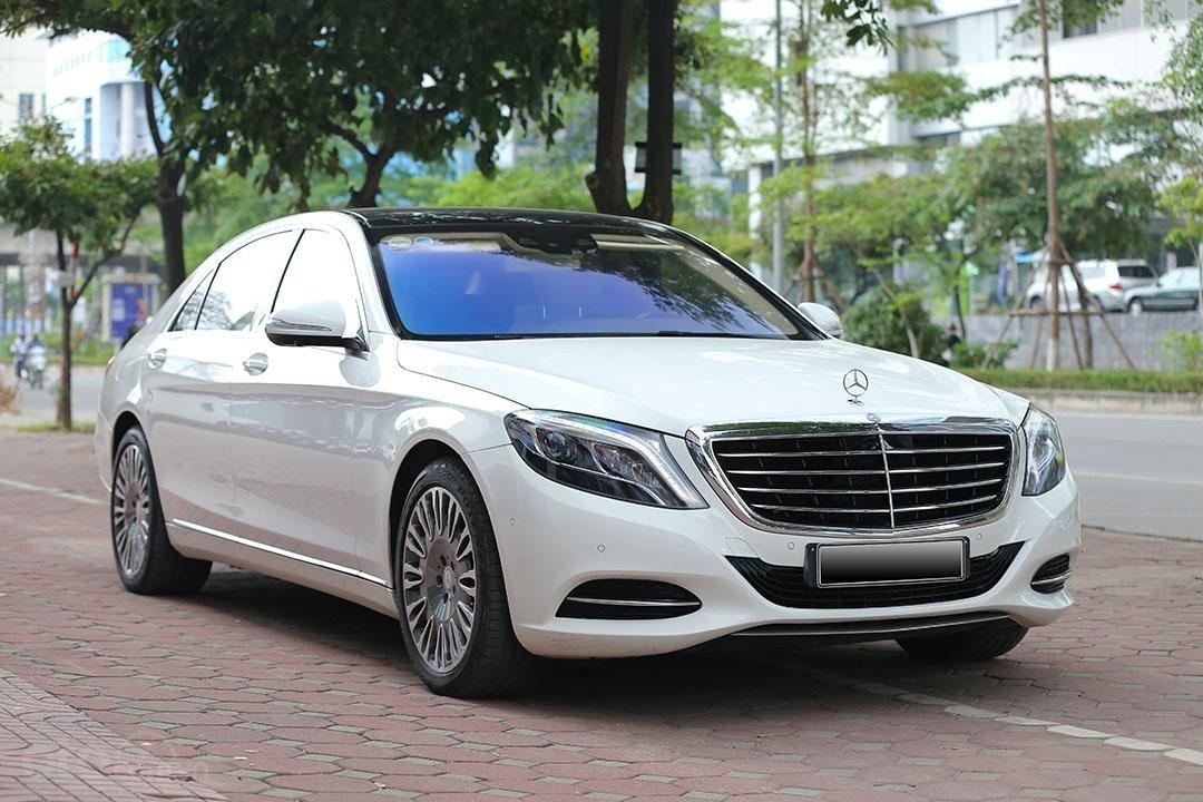 Mercedes S400L sản xuất 2017, mầu trắng-8
