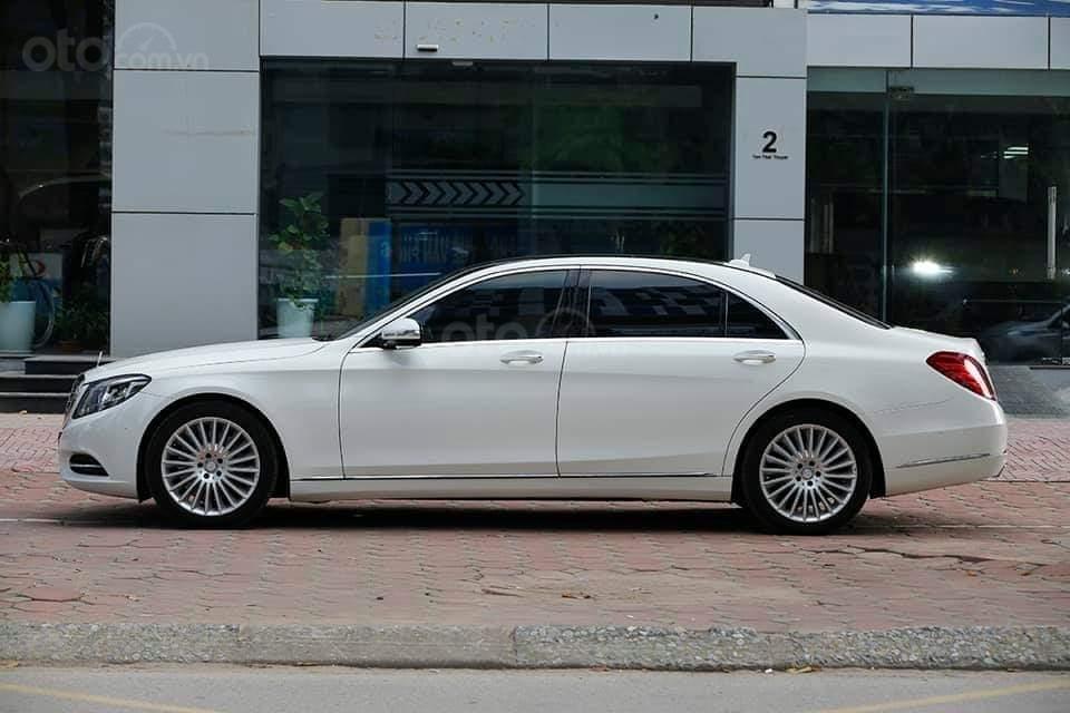 Mercedes S400L sản xuất 2014, mầu trắng-0