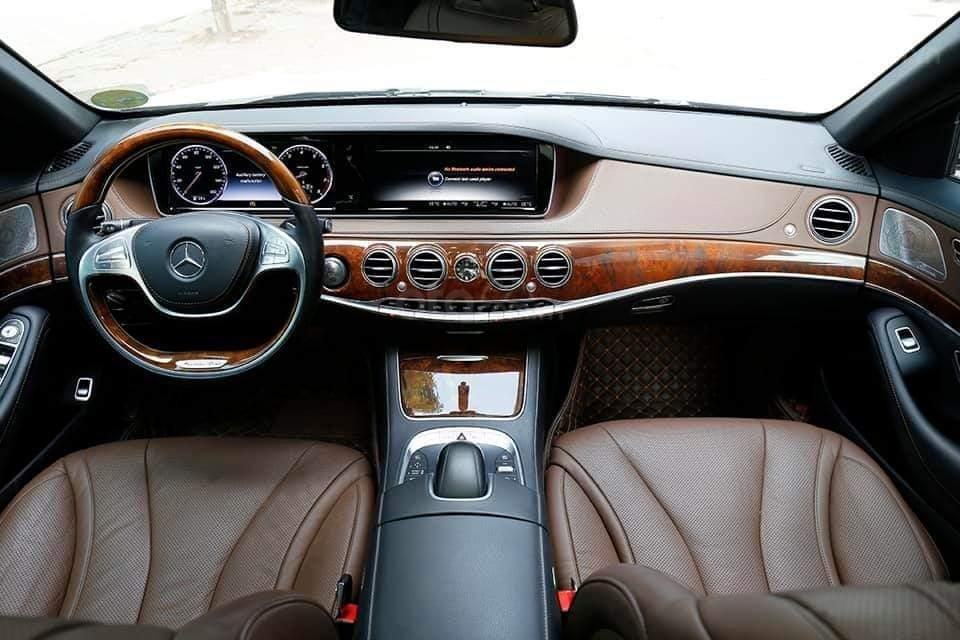 Mercedes S400L sản xuất 2014, mầu trắng-3