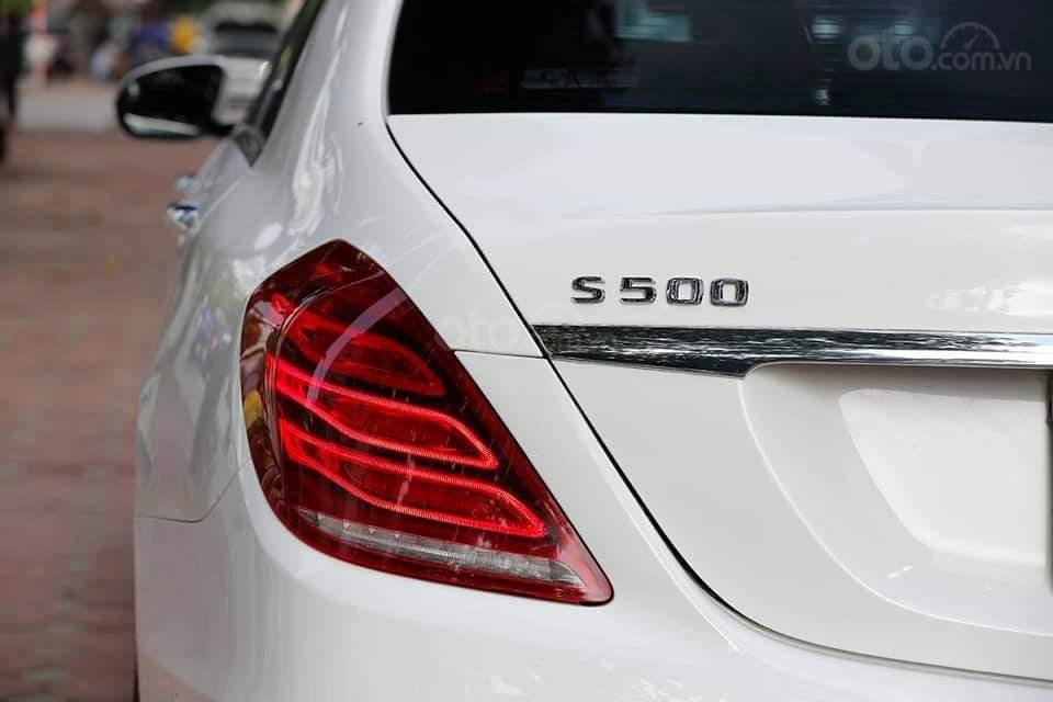 Mercedes S400L sản xuất 2014, mầu trắng-8