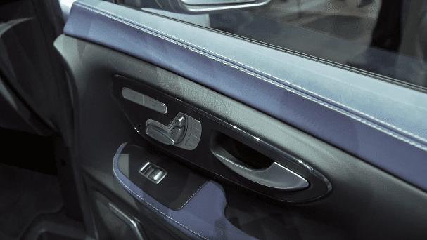 Nội thất Mercedes EQV