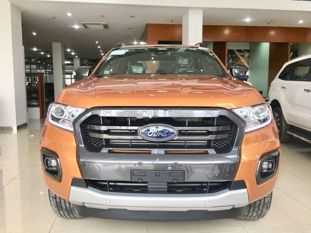 Bán ô tô Ford Ranger đời 2019, màu cam, xe nhập chính hãng (1)