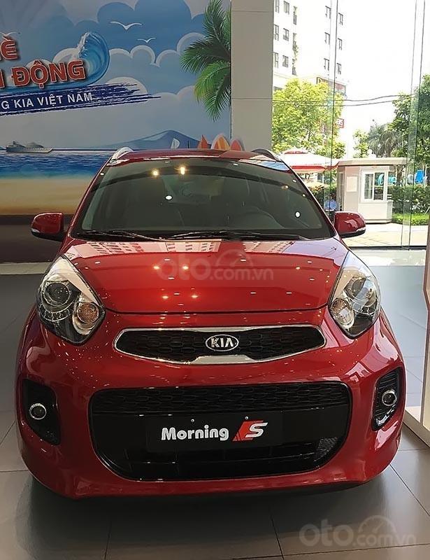 Bán Kia Morning Luxury sản xuất năm 2019, màu đỏ giá cạnh tranh (2)