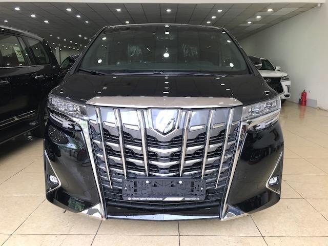 Bán Toyota Alphard năm sản xuất 2019, màu đen, nhập khẩu nguyên chiếc (1)