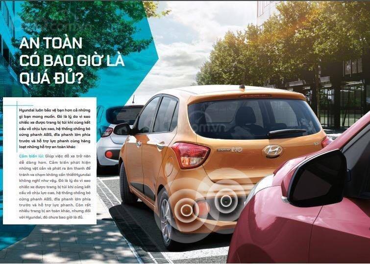 Bán Hyundai Grand i10 sản xuất 2019, màu trắng xe nhập, giá chỉ 350 triệu đồng (6)