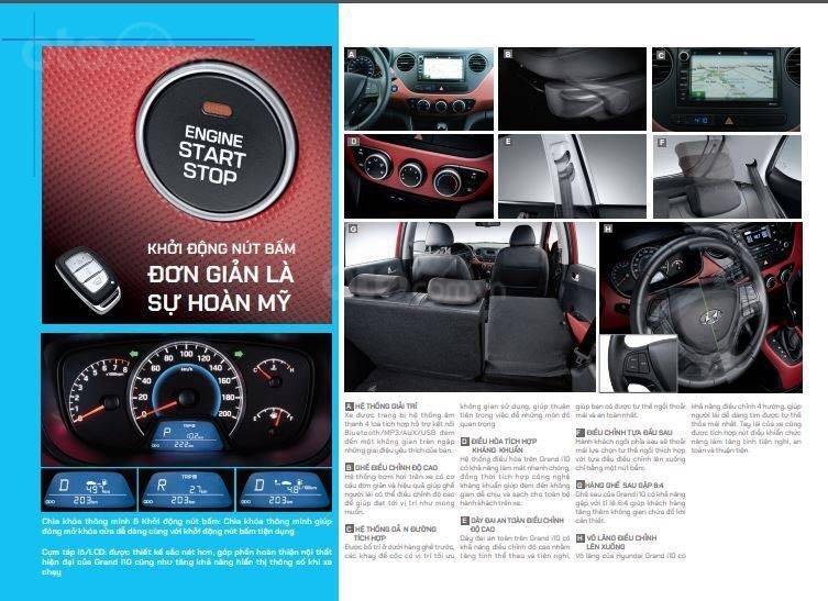 Bán Hyundai Grand i10 sản xuất 2019, màu trắng xe nhập, giá chỉ 350 triệu đồng (9)