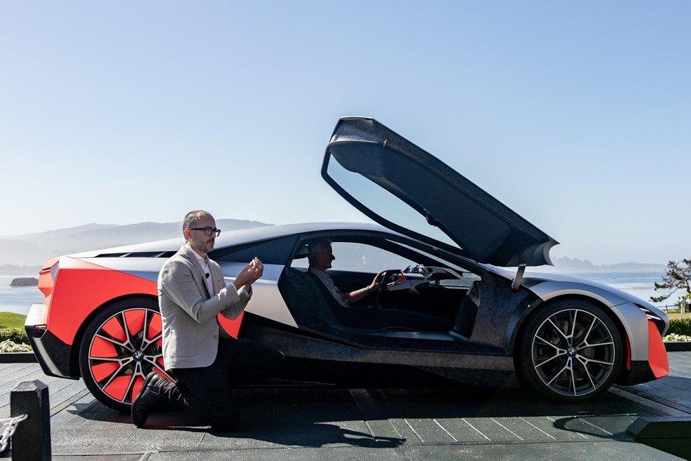 BMW Vision M Next chạy điện ra mắt tại Mỹ, dự kiến sản xuất 2023
