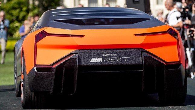 BMW Vision M Next sở hữu ngoại hình ấn tượng