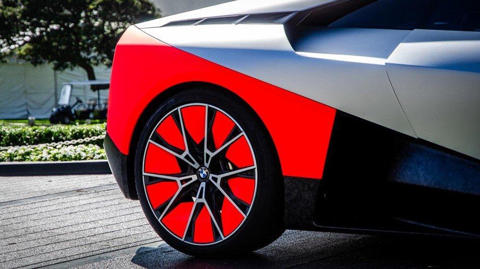 BMW Vision M Next sử dụng bộ mâm đa chấu hình chữ Y
