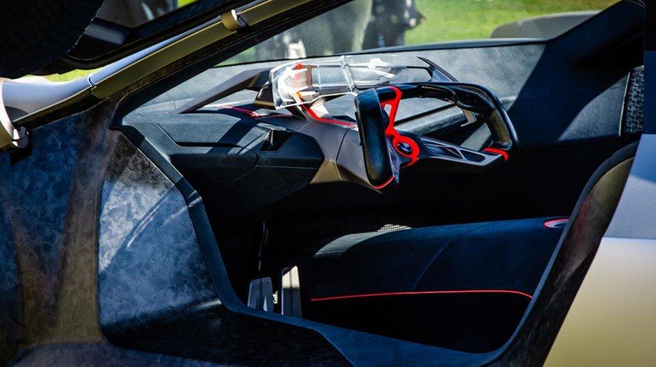 Hình ảnh nội thất BMW Vision M Next
